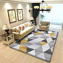 YQZS Modern Simple Bedroom Bedside Carpet Line