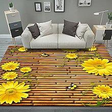 YQZS Modern Simple Bedroom Bedside Carpet