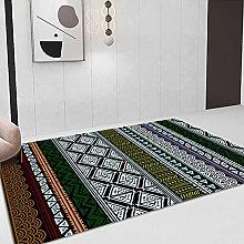 YQZS Short Velvet Living Room Carpet Color