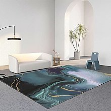 YQZS Ultra Soft Rectangle Area Rugs Blue-green