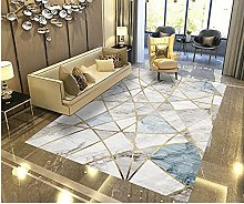YQZS Ultra Soft Rectangle Area Rugs Gray marble