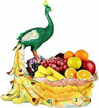YRHH Fruit Bowl Fruit Basket Desktop Decoration