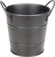 YRHH Metal Mini Food Bucket with Handles French