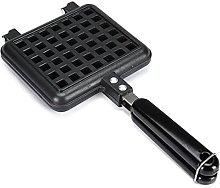 YRHH Non-Stick Cast Iron Waffle Maker Baking Tool