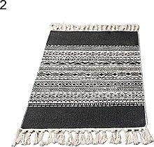 yrrdtrd Wall Tapestry,Cotton Linen Tassel Non-Slip