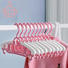 YRYBZ 30pcs Childrens Coat Hangers with Stackable