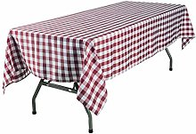 YRYIE 60x120'' Rectangle Buffalo Checkered