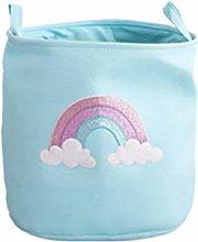 YS&VV Foldable Rainbow Laundry Basket Kids Toys