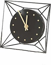 YS&VV Iron Desk Clock With Stylish Simplicity, Can