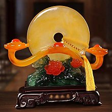 YSDHE Ornaments Wedding Gifts Sculpture TV Cabinet