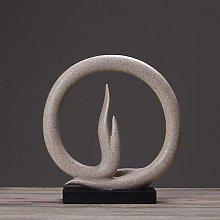YSDHE Statue Ornaments Sculptures Creative Simple