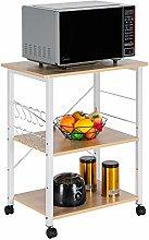 YsinoBear 3-Tier Kitchen Utility Microwave Oven