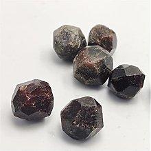 YSJJDRT Natural crystal rough Natural Crystal Red