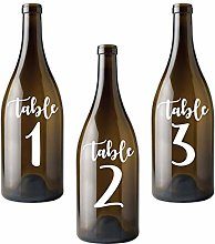 YSJJDRT Wall Stickers Wedding Party Table Number