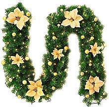 YSJJYQZ Christmas Ornament 2.7M Artificial