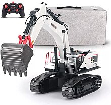YSKCSRY RC Excavator With Alloy Bucket, 1/14 Scale