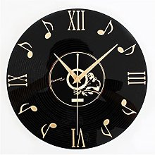 YSMLL 12' Musical Note Wall Clock with Dial