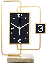YSMLL Desktop Clocks, Living Room Decorations,