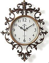 YSMLL European Style Wall Clocks Vintage Living