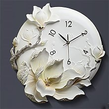 YSMLL Relief Wall Clock for Living Room Creative