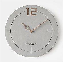 YSMLL Wall Clock Simple Minimalist Decor Wall