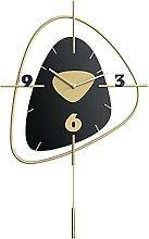 YSMLL Wall Clock Wood Digital Watch Home Decor for