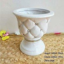 ysp Creative Simplicity Vases White Ceramic Simple