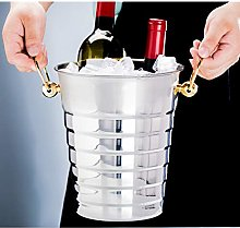 YSPS Wine Cooler Bucket, Stainless Steel Thickened