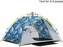 yssjs Tent Waterproof tent Beach Tent for 2-4 Man