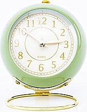YSYSPUJ Alarm clock Retro 3.5Inch Metal Alarm