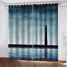 YTHSFQ Blackout Curtains 2 Panels Bright Light