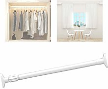 YTREDF Extendable Stainless Steel Curtain Rod No