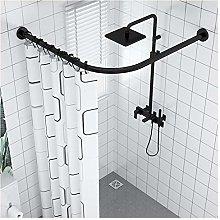 YTREDF Shower Curtain Rails for Bath Extendable L