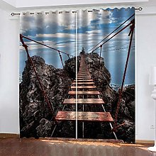 YTSDBB Darkening Curtain for Living Room Cliff