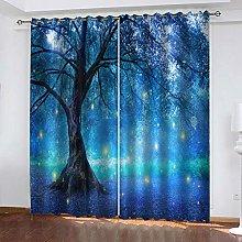 YTSDBB Darkening Curtain for Living Room Fairy