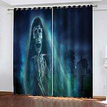 YTSDBB Darkening Curtain for Living Room Grim