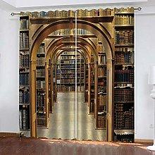YTSDBB Darkening Curtain for Living Room Library