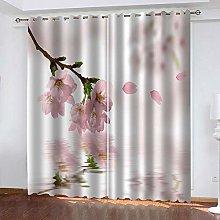 YTSDBB Darkening Curtain for Living Room Pink