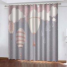 YTSDBB Darkening Curtain for Living Room Sky hot