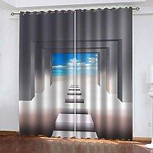 YTSDBB Darkening Curtain for Living Room Space