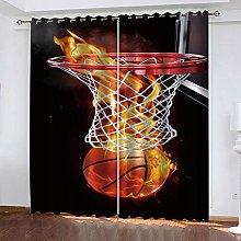 YTSDBB Darkening Curtain for Living Room Sports