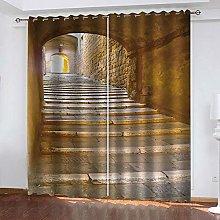 YTSDBB Darkening Curtain for Living Room Tunnel