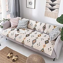 YTSM Sofa Covers 3 Seater,Cotton and linen