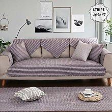 YTSM Sofa Covers 3 Seater,Cotton fabric sofa