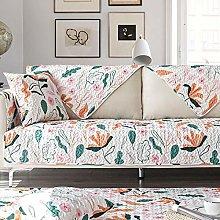 YTSM Sofa Covers 3 Seater,Cotton printed sofa