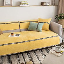 YTSM Sofa Covers 3 Seater,Thick solid color