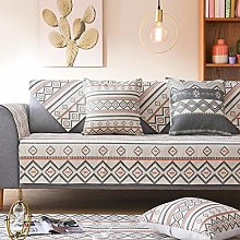 YTSM Sofa Slipcovers 3 Seater,Cotton and linen