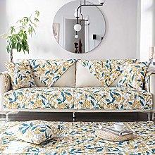 YTSM Sofa Slipcovers 3 Seater,Cotton fabric