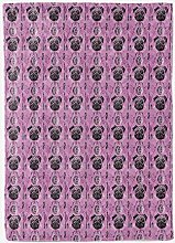 YTTBH Sofa Blanket Purple animal dog 45x60 inch