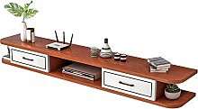 YU-FEI Floating TV Cabinet, Wall-mounted Media